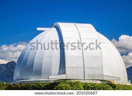 Gordon MacMillan Southam Observatory in Vancouver, Canada - stock photo