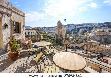 Goreme , Cappadocia, Turkey - stock photo