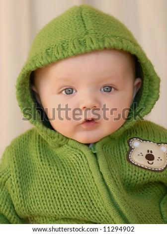gorgeous baby - stock photo