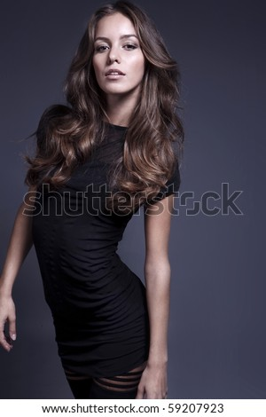 Gorgeous women - stock photo
