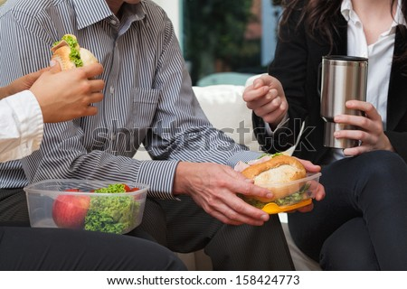 Gossip at the office during work - stock photo