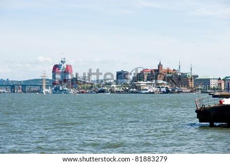 Gothenburg skyline - stock photo