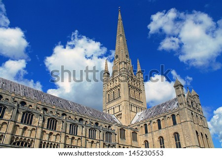 Gothic Cathedral - stock photo