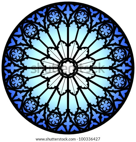 Rose Window Stock Photos Images Amp Pictures Shutterstock