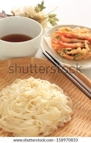 Gourmet food from Japan Aktia Prefecture, Inaniwaudon - stock photo