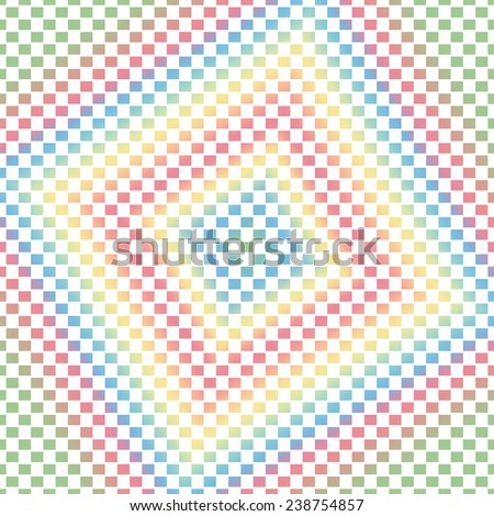 Gradient colored rectangle shape with white background - stock photo