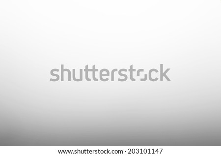 Gradient smooth abstract white gray background - stock photo