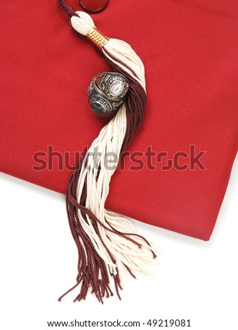 graduation accessories - stock photo