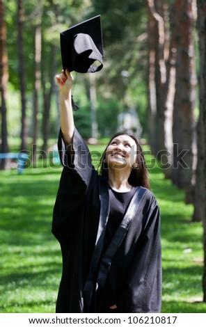 Graduation Celebration - stock photo