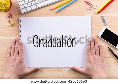 Graduation Concept - stock photo