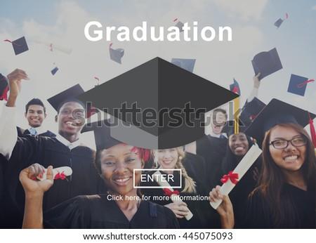 Graduation Education Learning Academic Concept - stock photo