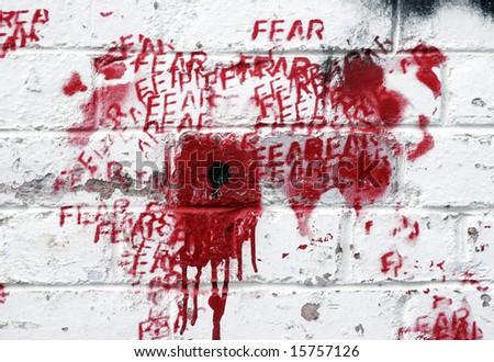 Graffiti Art on a wall, Melbourne Australia - stock photo