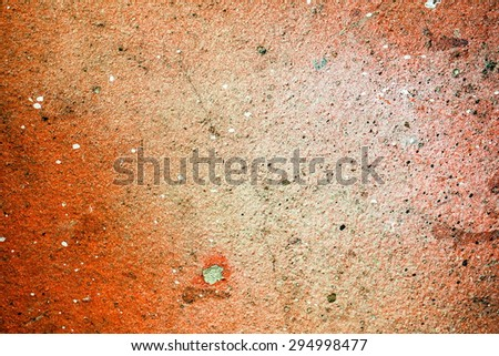 Graffiti brick wall, colorful background - stock photo