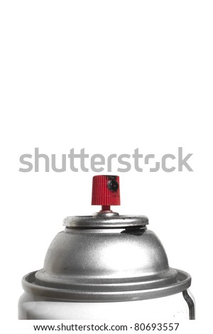 Graffiti spray paint can - stock photo