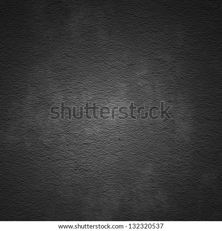Grain dark painted wall texture background - stock photo