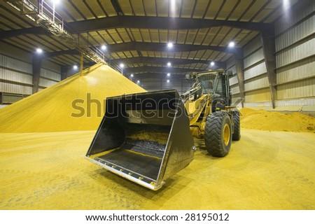 Grain Tractor - stock photo