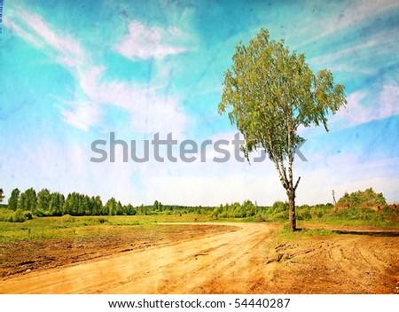 grainy background - stock photo