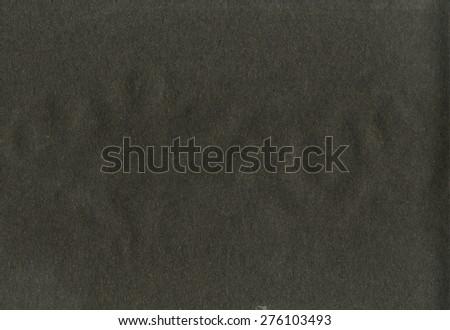 Grainy black paper texture background - stock photo