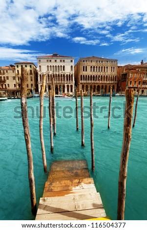Grand Canal, Venice, Iataly - stock photo
