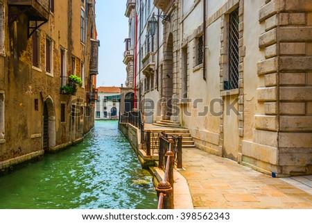 Grand Canal  .Venice.Italy - stock photo