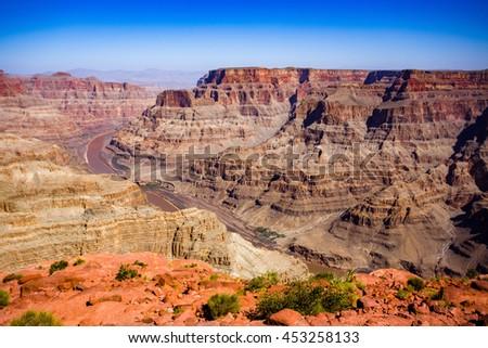 Grand Canyon Arizona - stock photo