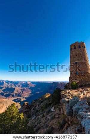 Grand Canyon in Arizona, USA  - stock photo