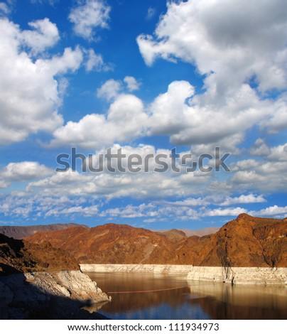 Grand Canyon near the Hoover Dam, Arizona, USA - stock photo