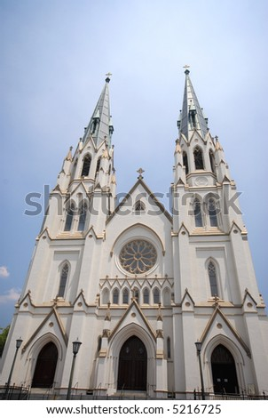 Grand Cathedral - Catholic - stock photo