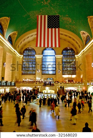 Grand Central Station in New York - stock photo