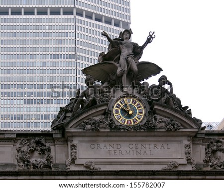 Grand Central Terminal, Station, New York City  - stock photo