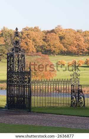 Grand Entrace - stock photo