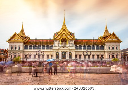 Grand palace bangkok, Thailand. - stock photo
