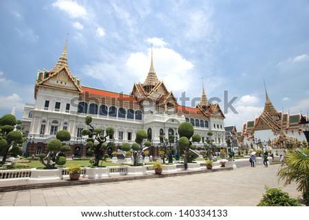 Grand Palace in Bangkok Thailand - stock photo