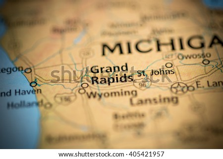 Grand Rapids. Michigan. USA - stock photo