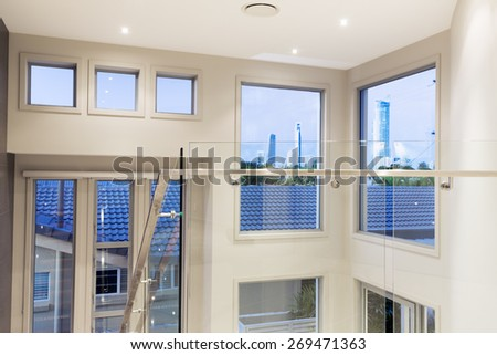 Grand residential house on the Gold Coast, Queensland, Australia - stock photo