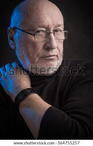 Grandfather - stock photo