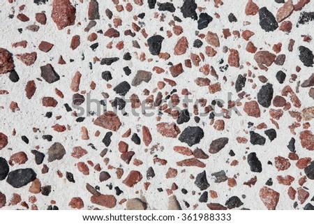 Granite and white sand background  - stock photo