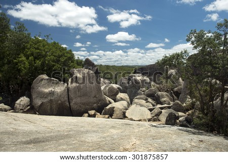 Granite Gorge,Cairns,Australia-5 - stock photo