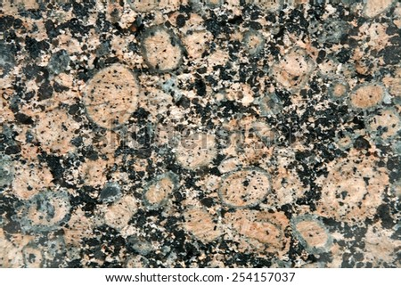 Granite rock - stock photo