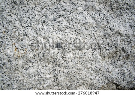 Granite surface, natural stone quarry - stock photo