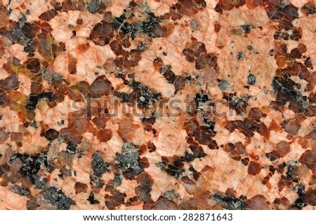 Granite Texture Macro - stock photo