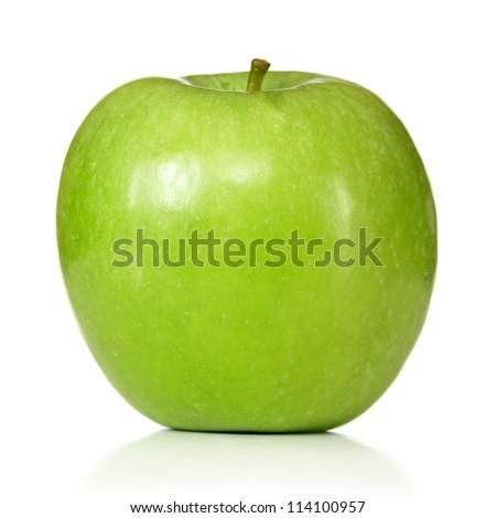 granny smith apple - stock photo