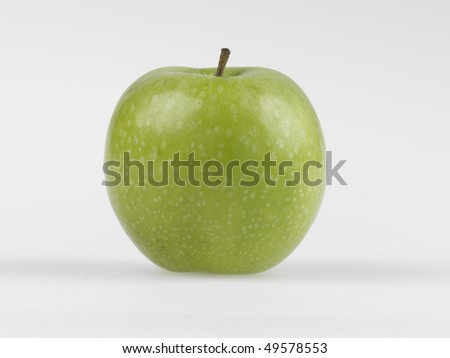 Granny Smith Apple - stock photo