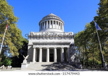 Grant's Tomb in New York - stock photo