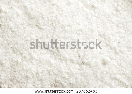 Granulated coarse salt crystal abstract texture background - stock photo