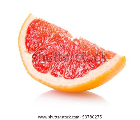grapefruit slice - stock photo