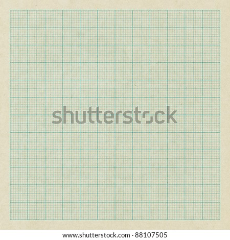 Graph paper - stock photo