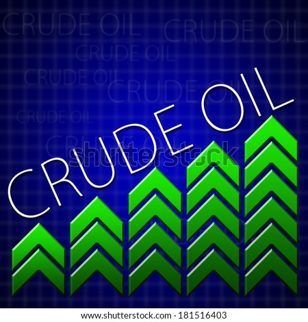 Graphic design trading related illustrating commodity growth - stock photo