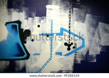 graphity - stock photo