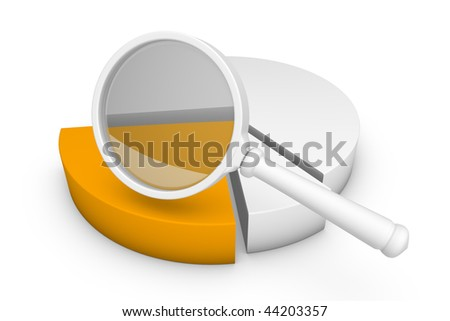 Graphs - statistics introduced graphically - stock photo